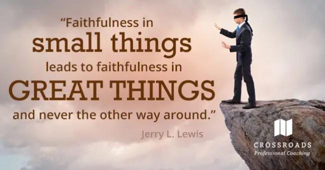 Výsledek obrázku pro step of faith