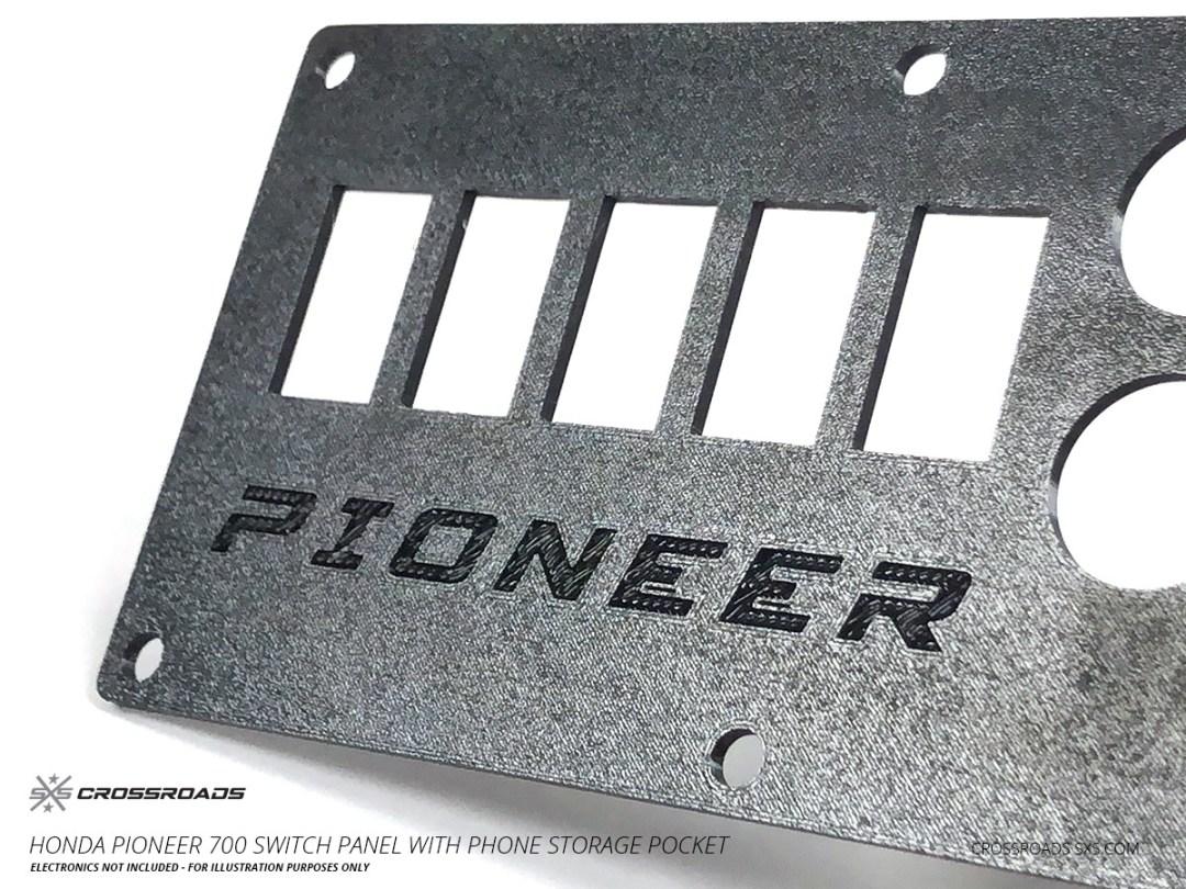 Honda Pioneer 500 Glove box