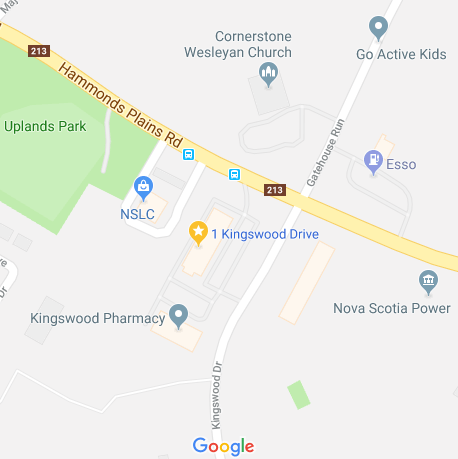 1 Kingswood - Map