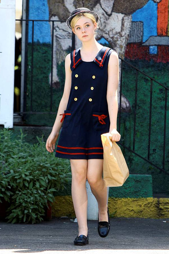 Elle Fanning Style Icon Crossroads