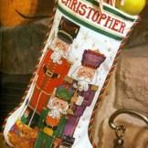 Hand & Heart Cross Stitch Christmas Book