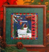 Holiday Memories BH&G Cross Stitch Christmas Book