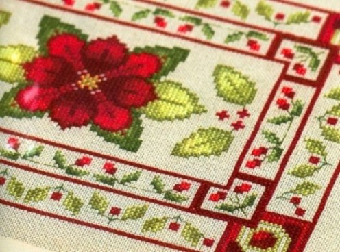 Needlework Treasures Cross Stitch Book