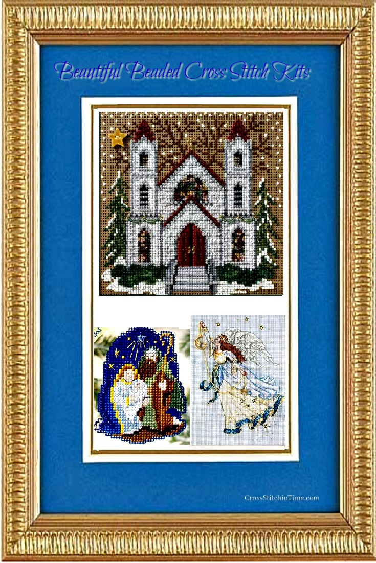 Christian Beaded Cross Stitch Kits