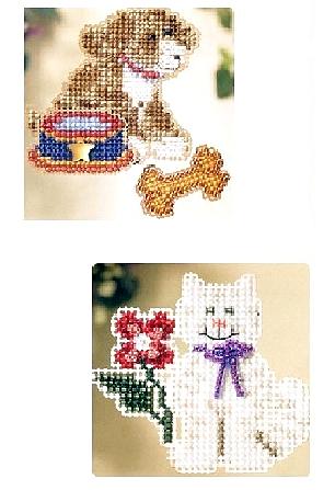 Animal Beaded Cross Stitch Kits