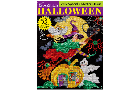 Just CrossStitch Halloween Magazines ~ Special Collectors Editions