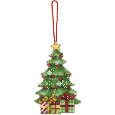 Dimensions Cross Stitch Christmas Tree Ornament Kit