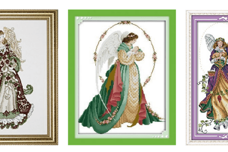 Angels Cross Stitch Kits
