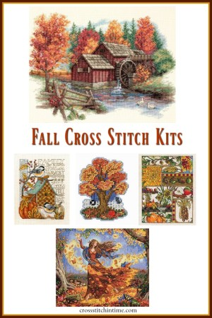 Autumn Cross Stitch Kits