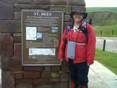 Cross the UK: Gary Brown raised money for the Miscarriage Association on his Coast to Coast Walk.