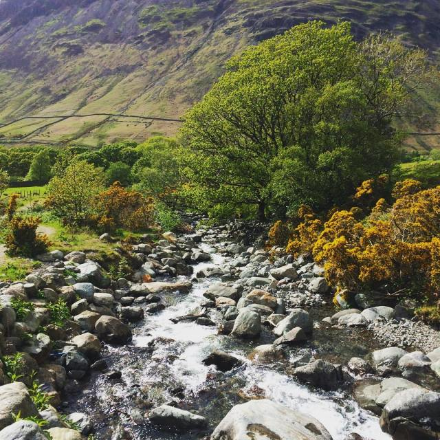 Autumnal Adventurescrosstheuk training advice adventure river lakedistrict wastwater hike walkshellip