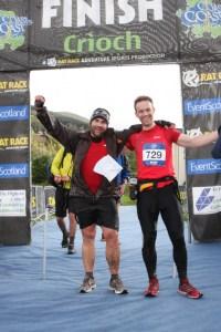 Cross the UK: Scotland Coast to Coast Rat Race Finish