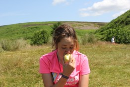 Cross the UK: HTCS Duke of Edinburgh Silver Final Expedition North Yorks Moors Mischa Eating Healthy