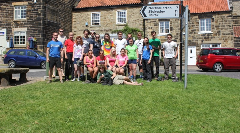 Cross the UK: HTCS Duke of Edinburgh Silver Final Expedition Finishers and Staff 2013