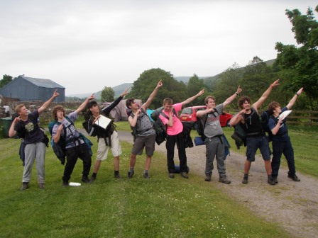 Cross the UK: HTCS Duke of Edinburgh Practice Expedition 'Los Tankos'