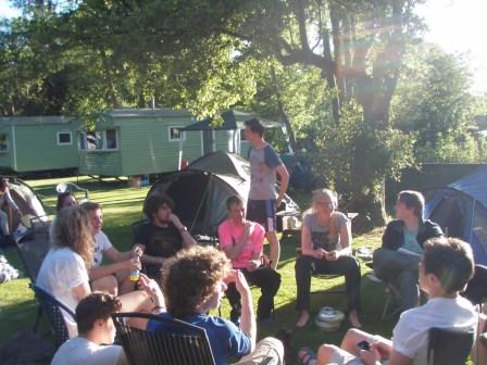 Cross the UK: Duke of Edinburgh Camping at Orchard Campsite in Reeth