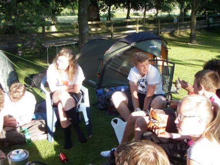 Cross the UK: Duke of Edinburgh HTCS Camping at Orchard Campsite