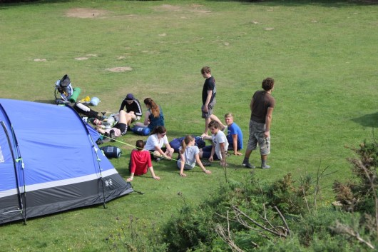 Cross the UK: HTCS Duke of Edinburgh Silver Final Expedition Base Camp at Raven Gill