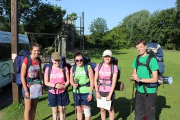 Cross the UK: HTCS Duke of Edinburgh Silver Final Expedition Yellow Tie at Carlton OEC