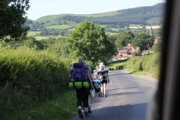 Cross the UK: HTCS Duke of Edinburgh Silver Final Expedition Team Work en route to Swainby