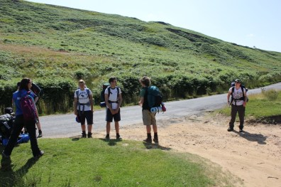 Cross the UK: HTCS Duke of Edinburgh Silver Final Expedition Los Tankos Final Climb
