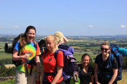 Cross the UK: HTCS Duke of Edinburgh Silver Final Expedition Team Work Closing Climb