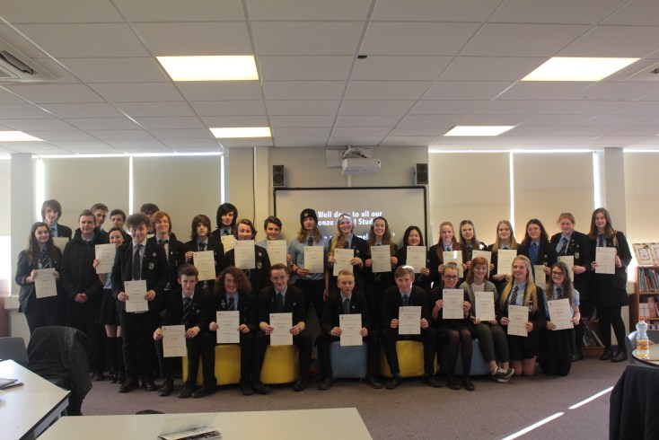 Cross the UK Bronze Awards Cohort 2014 1