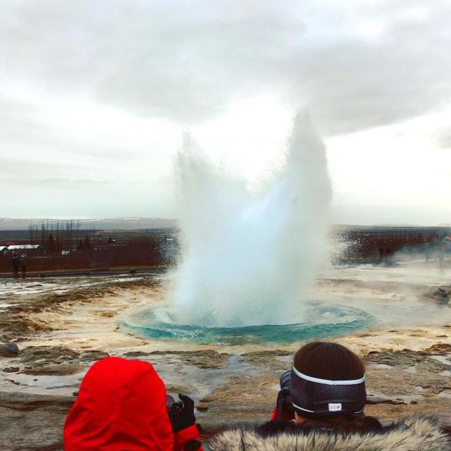 The anticipation for this moment adventure travel geyser iceland mystopovericelandhellip