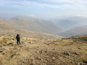 The long and winding road home (well, down Great Langdale)