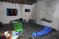 Dubs hut internal