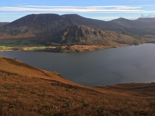 Views across Ennerdale on the climb up
