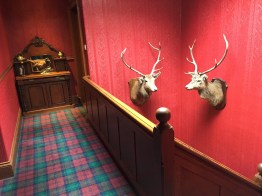 Traditional highland decor