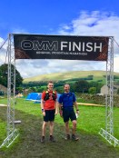 OMM Lite Finish Day One in the Yorkshire Dales