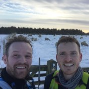 Even the snow hasn't stopped our training. 22 miles in the #northyorkmoorsnationalpark