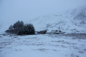 Mosedale Cottage Bothy nestled beneath Branstree