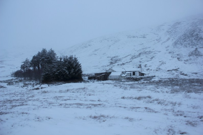 Mosedale Cottage Bothy nestled beneath Branstree