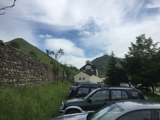 Parking at The Brotherswater Inn