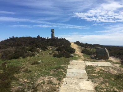The Lyke Wake Challenge Route Cross on Lilla Howe