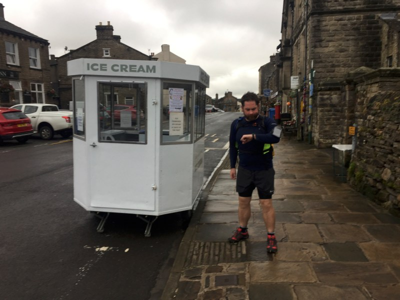 To early for ice cream in Hawes