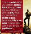 The Echo Philosophy...