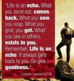 The Echo Philosophy...