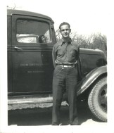 CCC - Civilian Conservation Corps Truck in Osage Hills SP