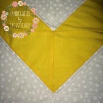 Chevron Baby Quilt - Polka Dot Fabric & Quilting