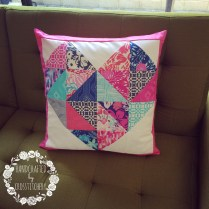 Quilted Love Heart Cushion