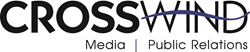 Logo for the Top Texas PR Firm Crosswind Media and Public Relations