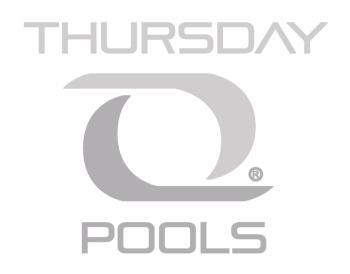Thursday Pools LLC gray logo