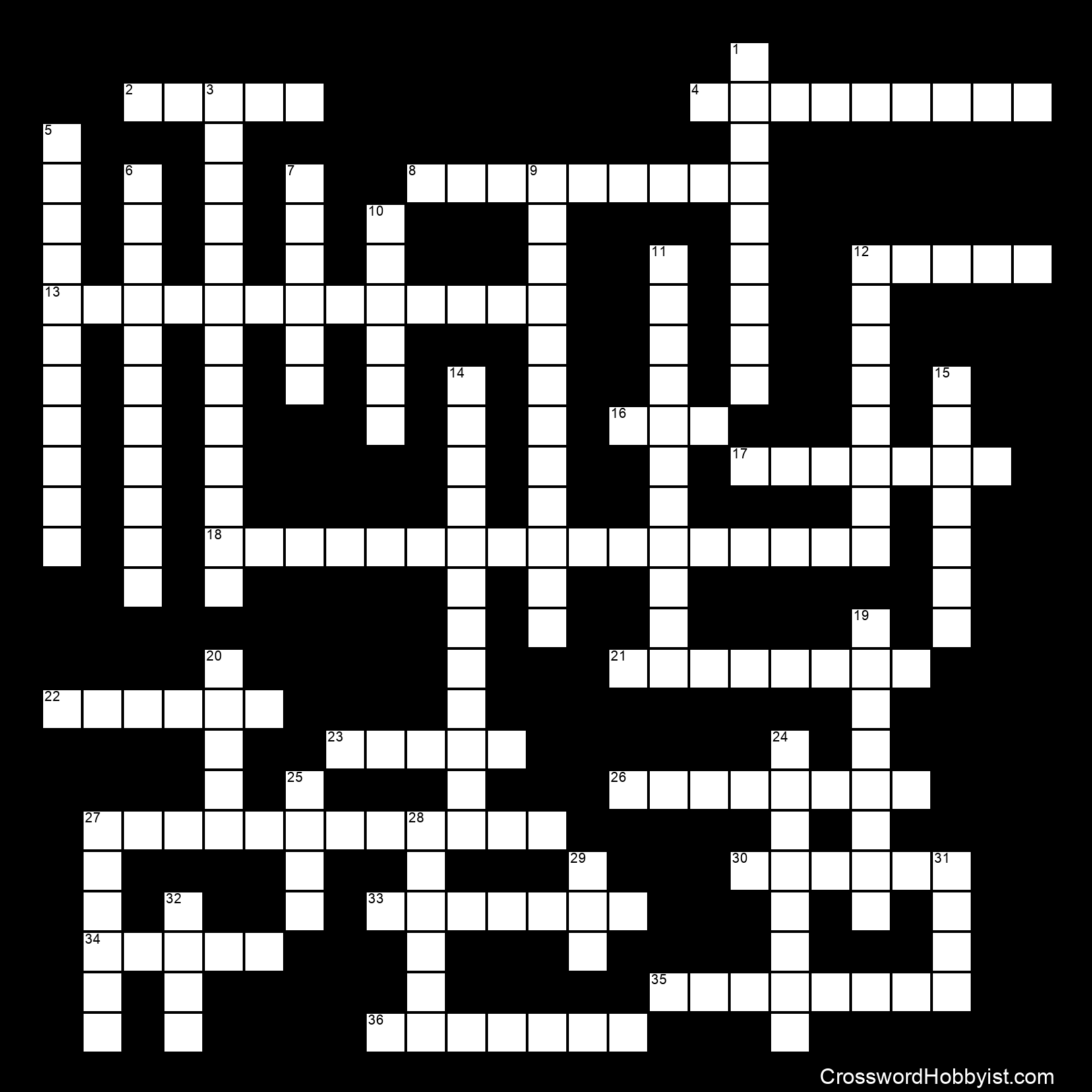 18th Century Review Crossword Puzzle