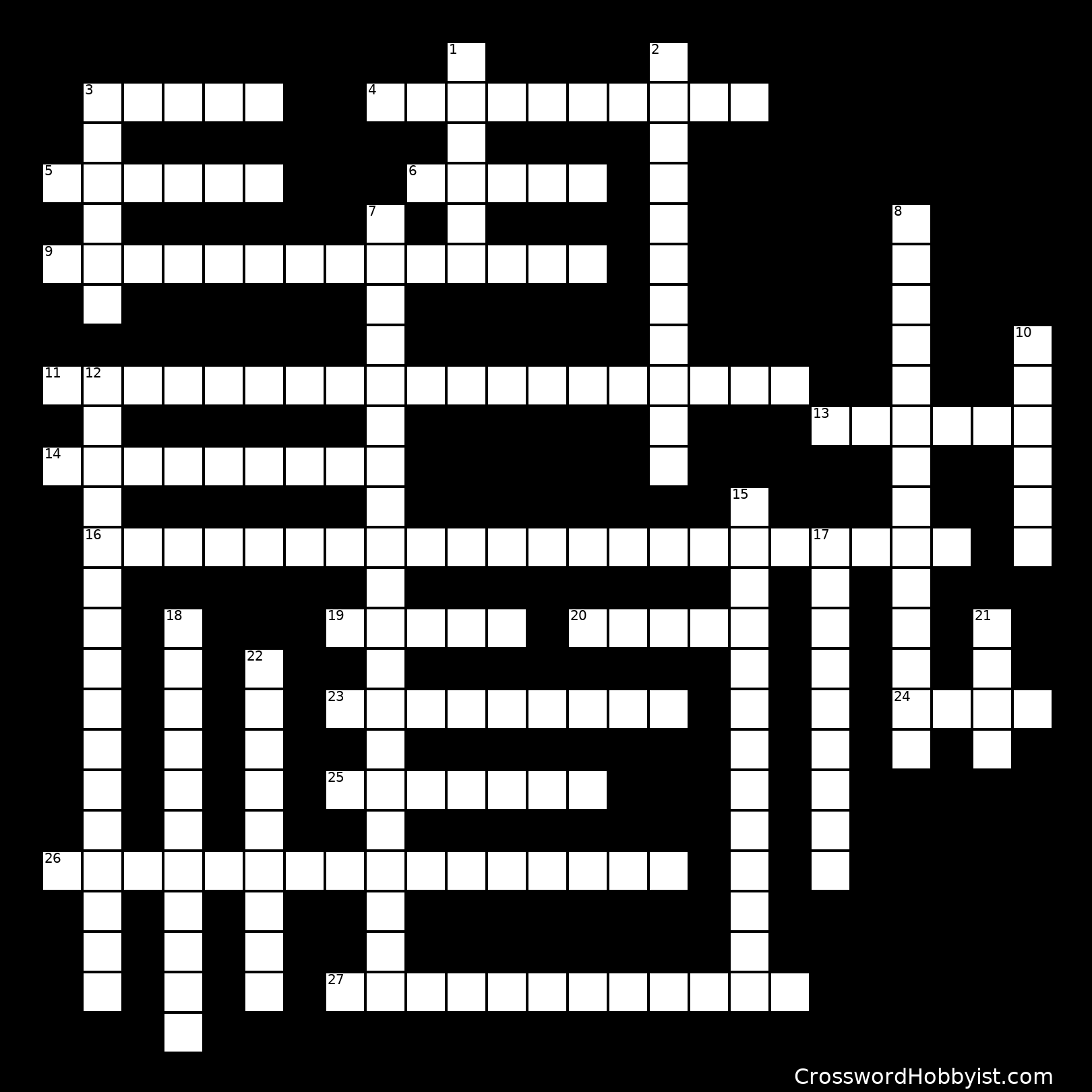 Cardiac Crossword