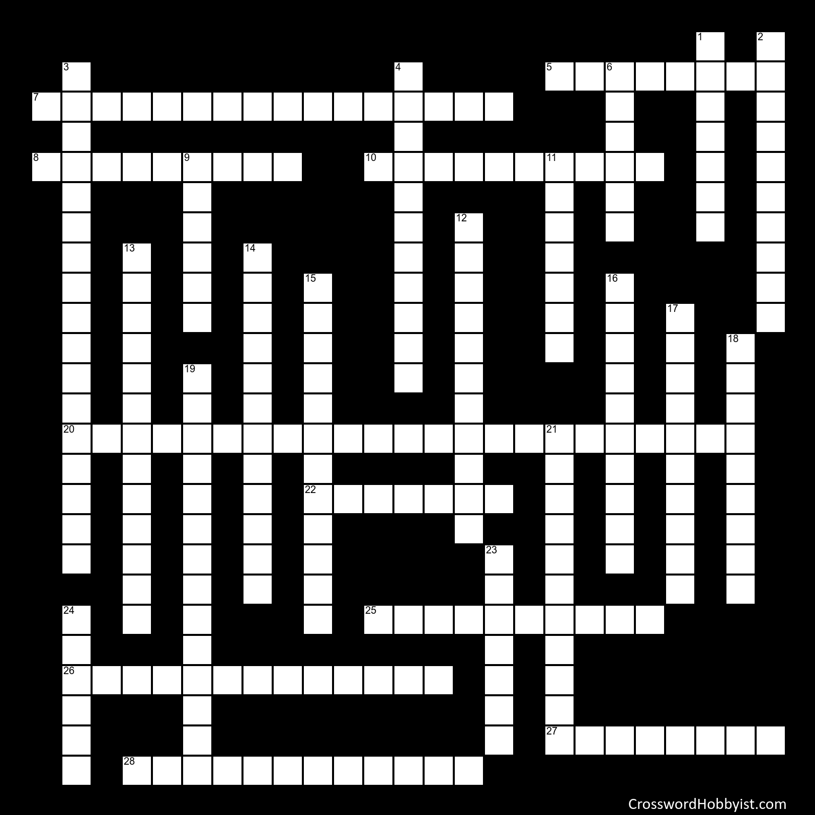 Phineas Gage Crossword Puzzle