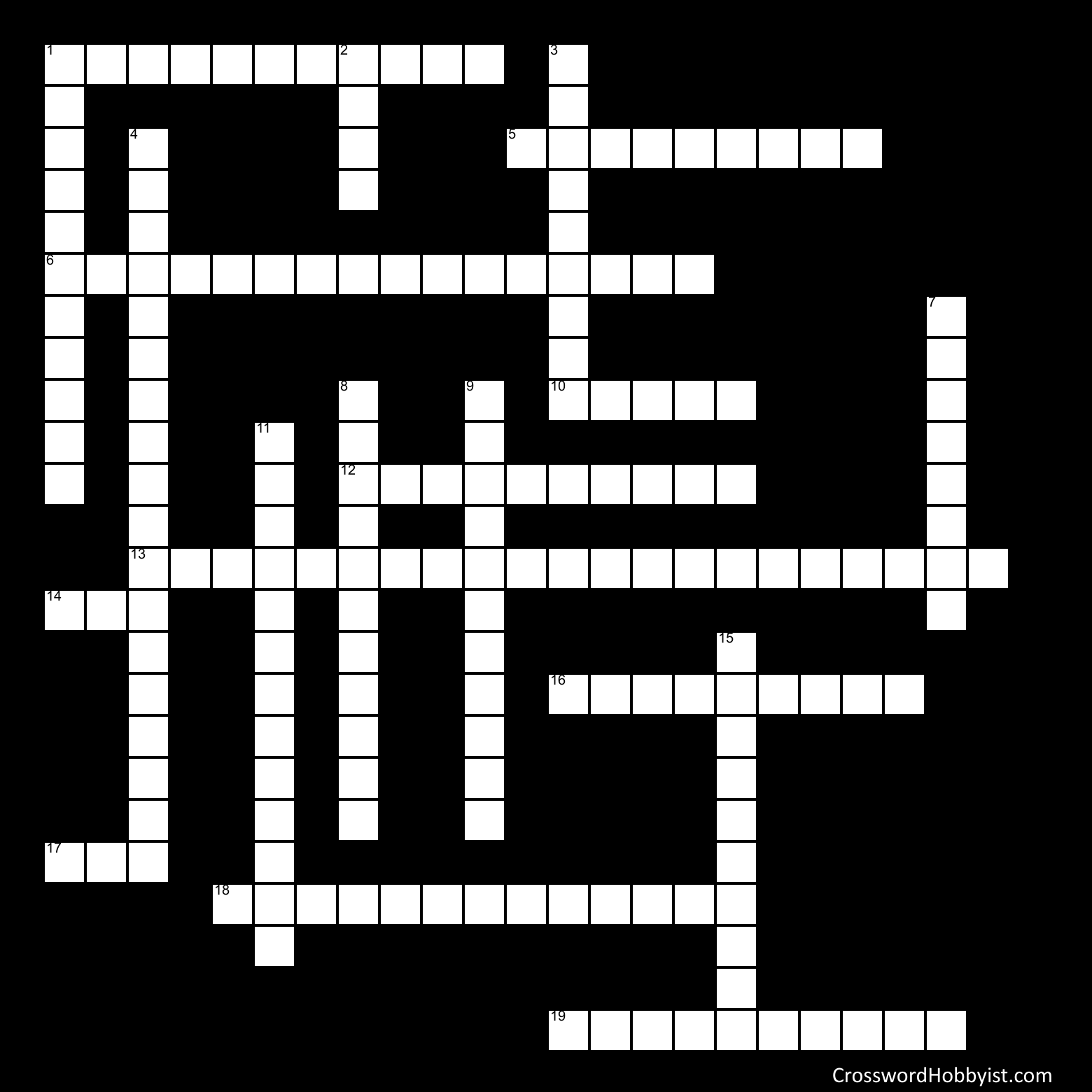 State Law Cross Word